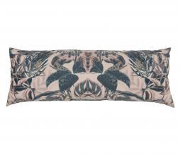 Afbeelding van product: BePureHome Bouquet kussen printed velvet 35x100 cm milk