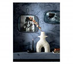 Afbeelding van product: vtwonen Rounded fotolijst metaal zwart div. afmetingen 31X30 cm