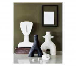 Afbeelding van product: vtwonen Face sculpture ecomix egg white