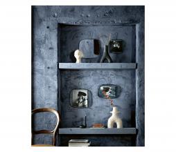 Afbeelding van product: vtwonen Rounded spiegel metaal zwart div. afmetingen 20x32 cm