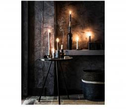 Afbeelding van product: vtwonen opbergmand 36x38 cm zeegras donkerblauw-zwart