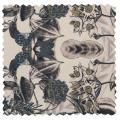 Thumbnail van BePureHome Caleidoscoop hocker printed velvet bouquet off-white