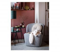 Afbeelding van product: vtwonen Lofty fauteuil bouclé staalgrijs