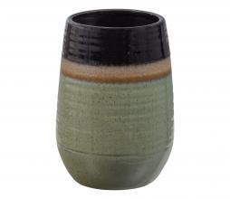 Afbeelding van product: BePureHome Lava vaas 28xø19cm keramiek veggie