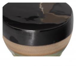 Afbeelding van product: BePureHome Glazed kruk 43xø33cm keramiek veggie