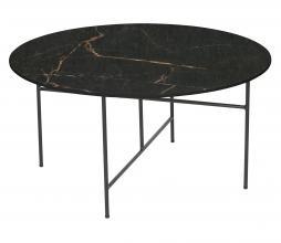 Afbeelding van product: WOOOD Exclusive Vida bijzettafel 40 x ø80 cm marmer look porselein zwart