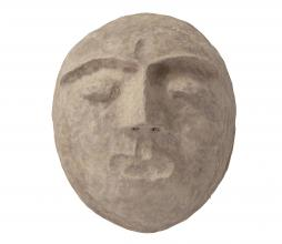 Afbeelding van product: BePureHome Mask wanddeco papier maché bruin melange