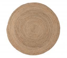 Afbeelding van product: WOOOD Ross vloerkleed Ø150 cm jute naturel
