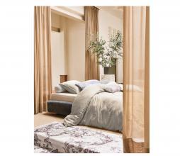 Afbeelding van product: Essenza Minte dekbedovertrek katoen cement div. afm. 2 persoons (200x220cm)