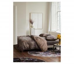 Afbeelding van product: Essenza Aurelie dekbedovertrek katoen cafe noir, div. afm. 2 persoons (200x220cm)