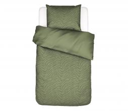 Afbeelding van product: Essenza Belen dekbedovertrek forest green div. afm 1 persoons (140x220cm)
