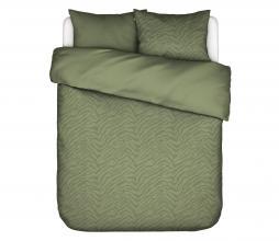 Afbeelding van product: Essenza Belen dekbedovertrek forest green div. afm 2 persoons (200x220cm)