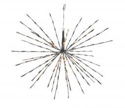 Afbeelding van product: Flah lamp LED kunststof zwart ø45 cm