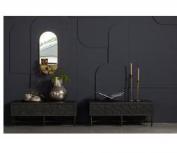 Afbeelding van product: WOOOD Exclusive Brooke boekenstandaard metaal zwart liggend