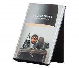 Afbeelding van product: WOOOD Exclusive Brooke boekenstandaard metaal zwart staand