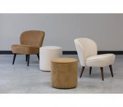 Afbeelding van product: WOOOD Sara fauteuil bouclé créme