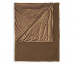 Afbeelding van product: Essenza Teddy plaid 150x200 cm fake fur café noir
