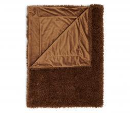 Afbeelding van product: Essenza Shelley plaid 150x200 cm fake fur café noir