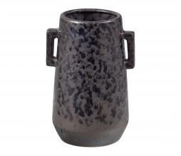 Afbeelding van product: BePureHome Bombay Can vaas met handvaten keramiek bruin