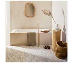 Afbeelding van product: Selected by Baja schaal mangohout bruin